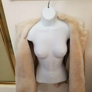 Women's Leather XL FUR COAT - ADLER COLLECTION